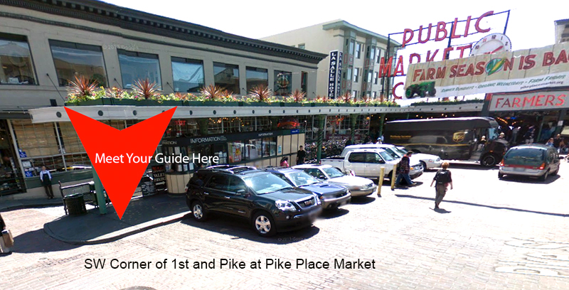 Pike PLace MArket Information Booth